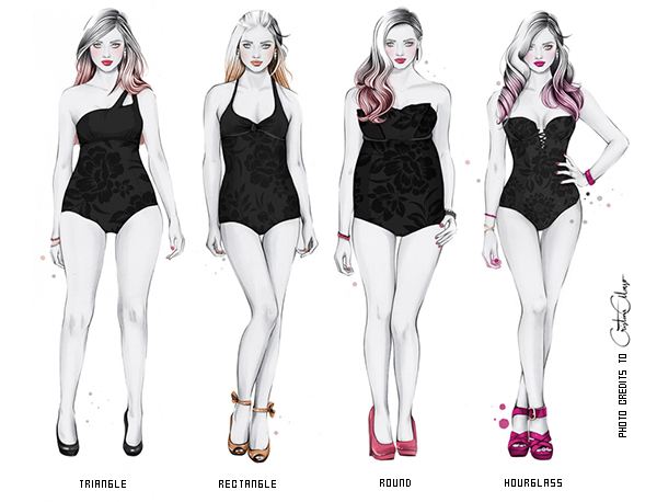 Read about How to Dress For Your Body Shape