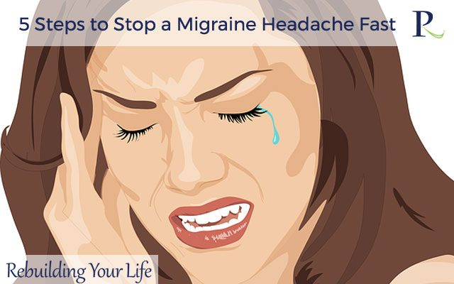 5 Steps to Stop a Migraine Headache Fast