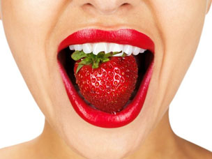 ears transmitting taste signals to the brain