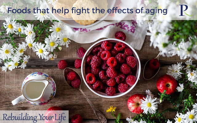Foods that help fight the effects of aging