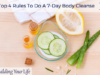 Top 4 Rules To Do A 7-Day Body Cleanse