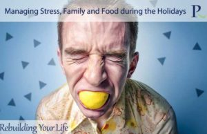 Managing Stress, Family and Food during the Holidays