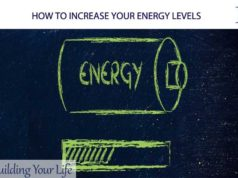 HOW TO INCREASE YOUR ENERGY LEVELS