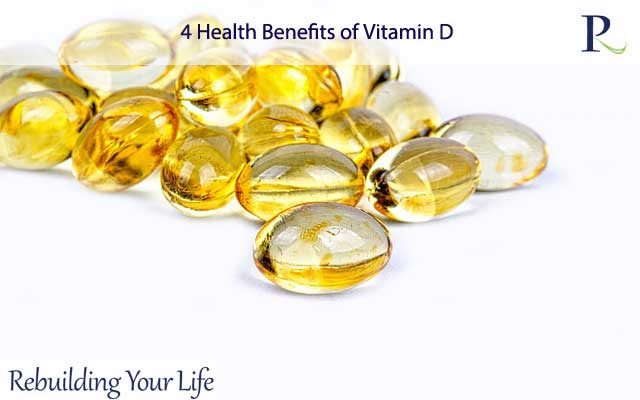 4 Health Benefits of Vitamin D