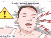 How To Deal With Sleep Apnea