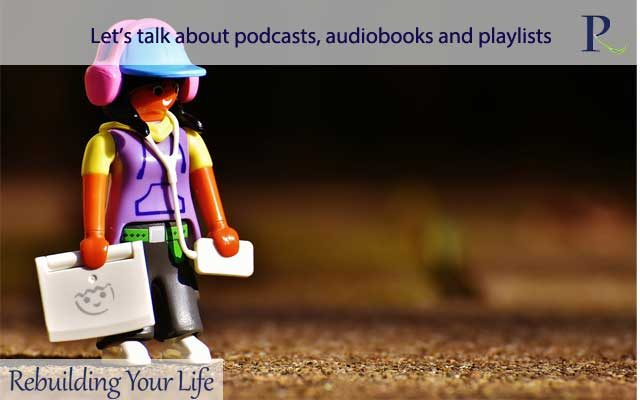 Let's talk about podcasts, audiobooks and playlists