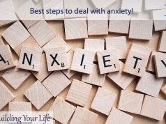 Best steps to deal with anxiety
