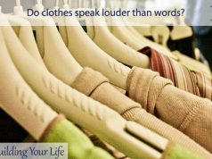 Do clothes speak louder than words?