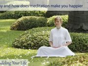 Why and how does meditation make you happier