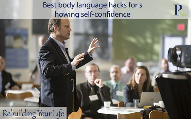 Best body language hacks for showing self-confidence