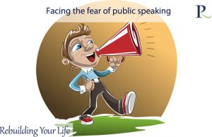 Facing the fear of public speaking
