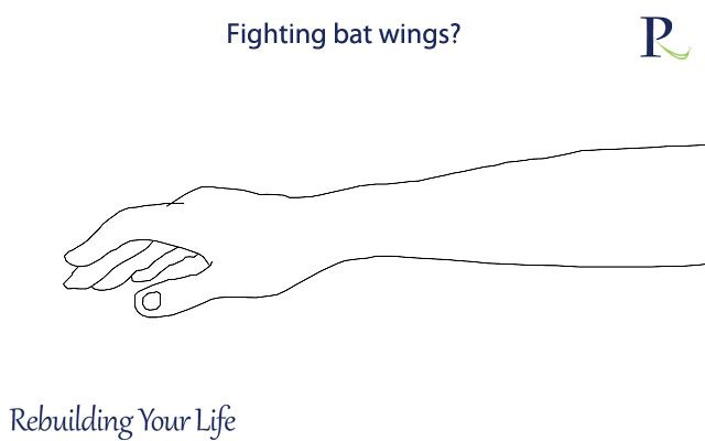 Fighting bat wings?