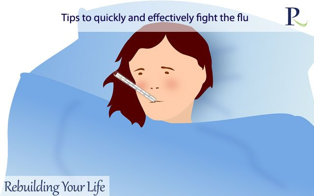 Tips to quickly and effectively fight the flu