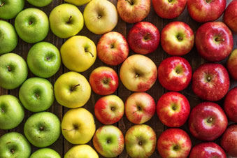Consuming apples cleanses your colon