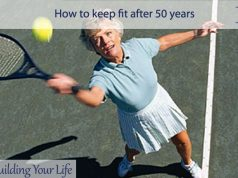 How to keep fit after 50 years