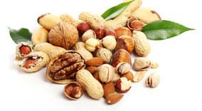 Nuts Foods against hair loss