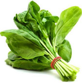 Spinach - Foods against hair loss