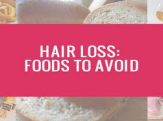 Foods that lead to hair loss