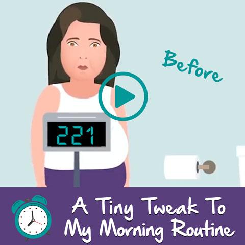 A Tiny Tweak To My Morning Routine