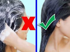 How to wash your hair properly